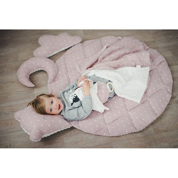 Pink Teddy Gym Play Mat