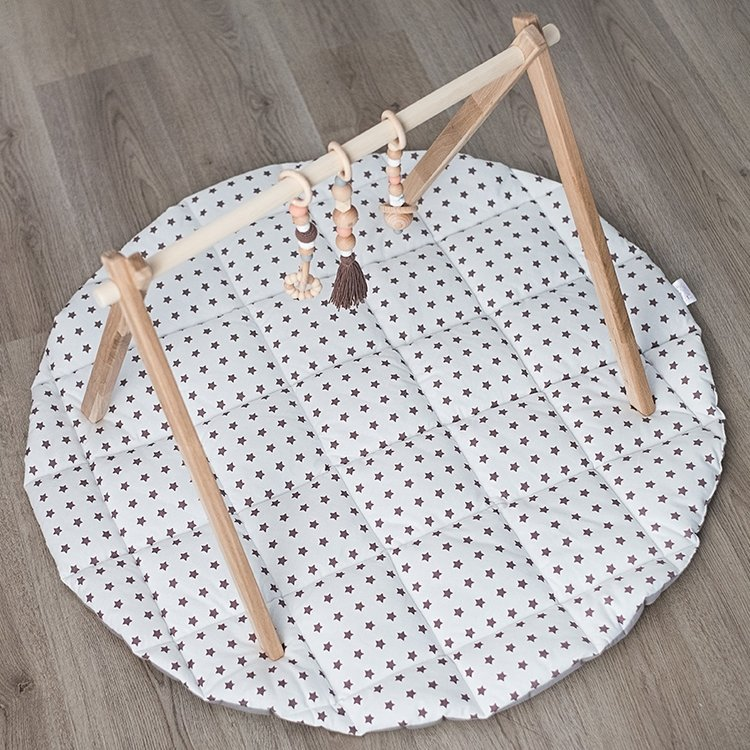 Natural Wooden Baby Play Gym