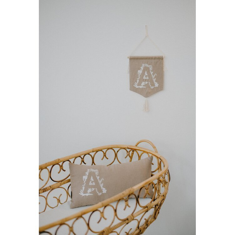Personalized Brown Pennant Banner
